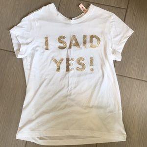 Victoria's Secret Bride T-Shirt NWT